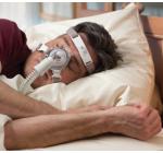 TrueBlue CPAP maszk és fejpánt